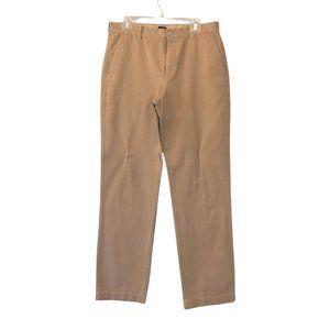 J. Crew Factory Bleecker 32x34 Khaki Chino Pants